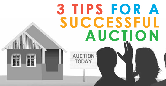 3 tips for a successful auction