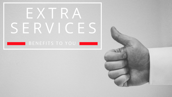 extra-services benefits to you - changing places
