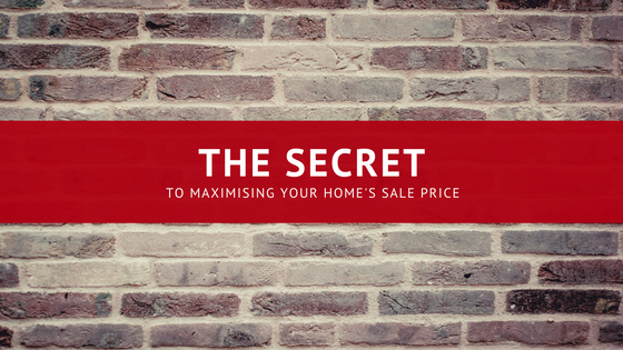 The secret to maximising your sale price changing places