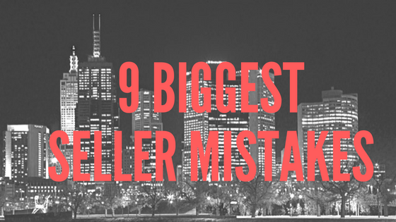 9 biggest seller mistakes
