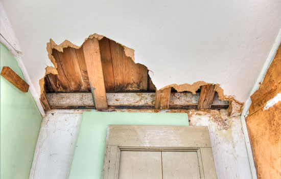 Leaking Roof home insurance