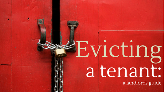 Evicting a tenant - changing places